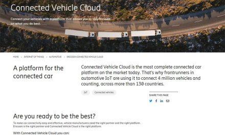 Ericsson y Microsoft se alían para la próxima generación de vehículos conectados