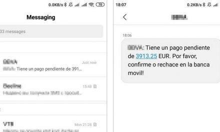 El troyano bancario Ginp utiliza SMS falsos para obtener las credenciales de sus víctimas