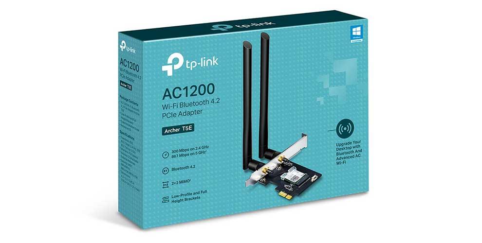 TP-Link dota de Wi-Fi de alta velocidad y Bluetooth a tu ordenador de sobremesa con su adaptador Archer T5E