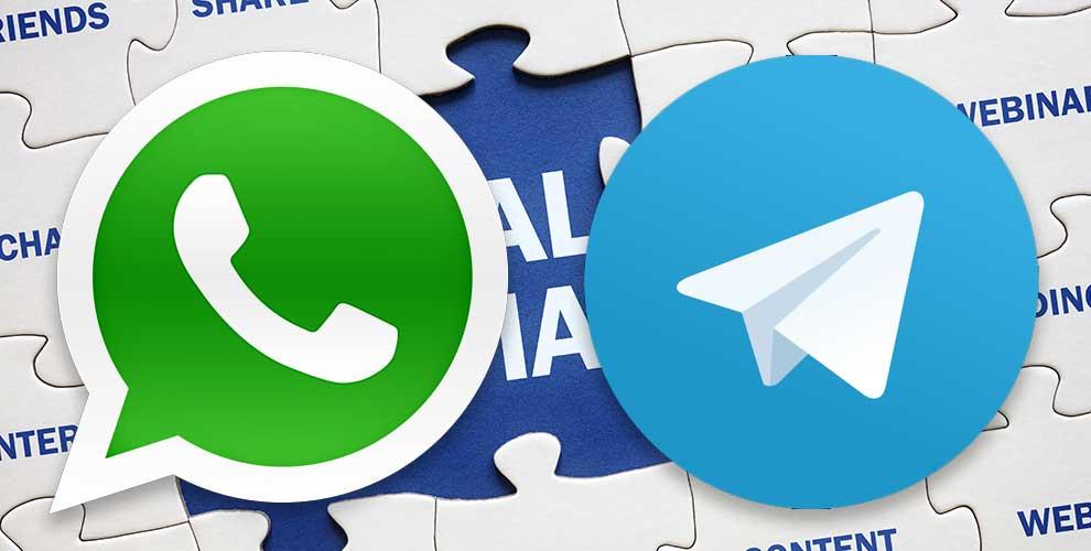 ¿Signal o Telegram pueden acabar con el reinado de WhatsApp?
