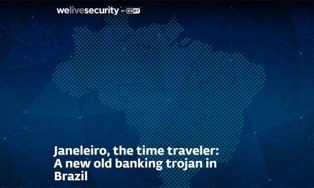 ESET descubre un nuevo troyano bancario que ataca a empresas brasileñas